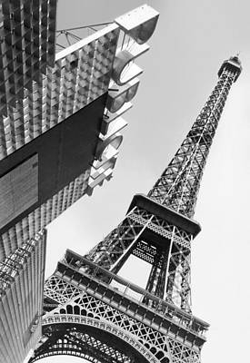 Photograph - Leaning Eiffel Tower by Herbert