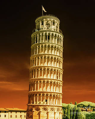 Erik Brede Rights Managed Images - Leaning Tower of Pisa Part 2 Royalty-Free Image by Erik Brede