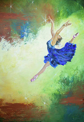 Painting - Leap Of Faith by Jackie Little Miller