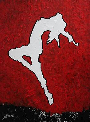 Painting - Leap Of Faith Original Painting by Sol Luckman