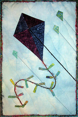 Tapestry - Textile - Learning To Fly by Pam Geisel