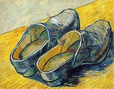 Studio Grafika Vintage Posters - Leather Clogs by Vincent van Gogh