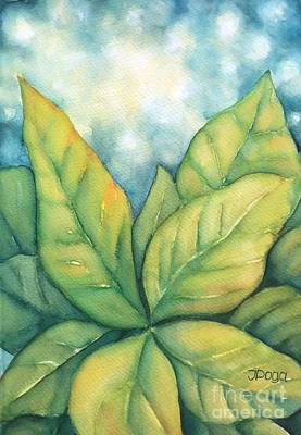 Painting - Leaves by Inese Poga