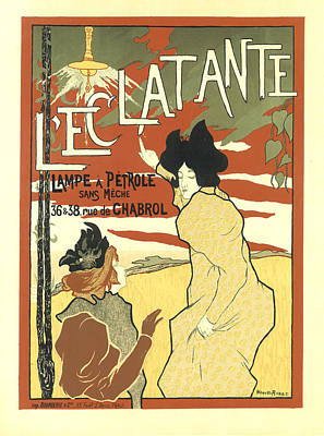 Painting - Le'clatante Vintage French Advertising by Vintage French Advertising