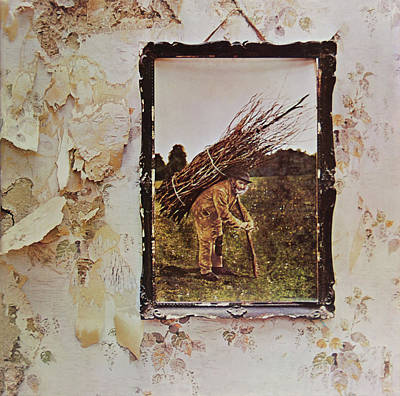 Music Royalty-Free and Rights-Managed Images - Led Zeppelin IV by Robert VanDerWal