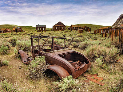 Photograph - Left To Rust by Leland D Howard
