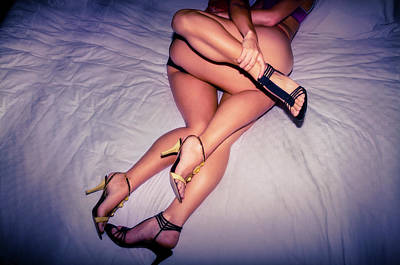 Photograph - Leggy Love Legs by Amyn Nasser