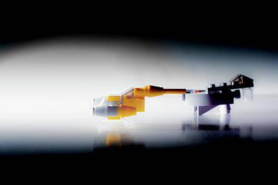 Photograph - Lego Star Wars Starfighter Race by Scott Lyons