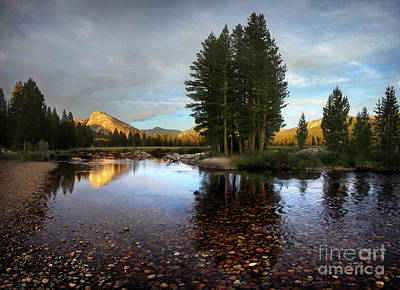 Wild And Wacky Portraits Rights Managed Images - Lembert Dome Over the tuolumne River and Meadows - Yosemite Royalty-Free Image by Bruce Lemons