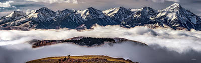 Photograph - Lemhi Peaks by Leland D Howard