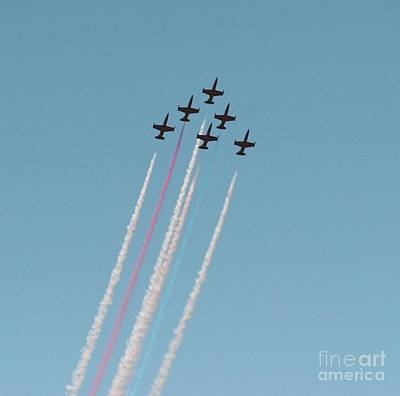 Transportation Royalty-Free and Rights-Managed Images - #4 Patriots Jet Team by Tap On Photo