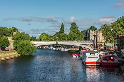 Photograph - Lendal Bridge, River Ouse, York by David Ross