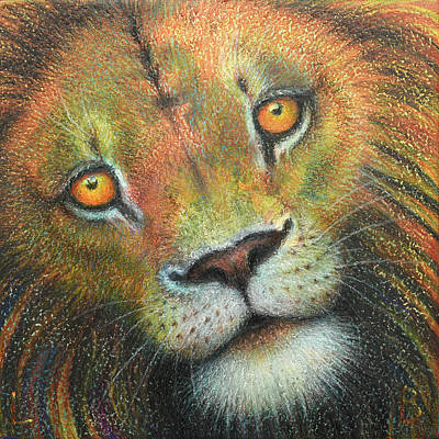 Painting - Leo by Lynn Bywaters