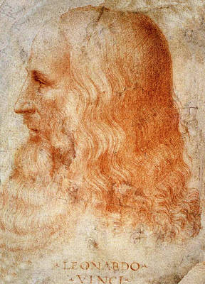 Painting - Leonardo Da Vinci  by Francesco Melzi