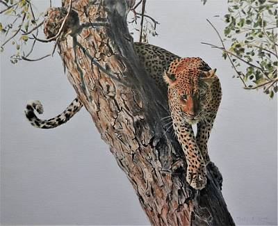 Painting - Ready To Pounce by John Neeve
