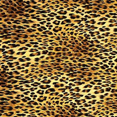 Painting - Leopard Skin Camouflage Pattern  by Taiche Acrylic Art