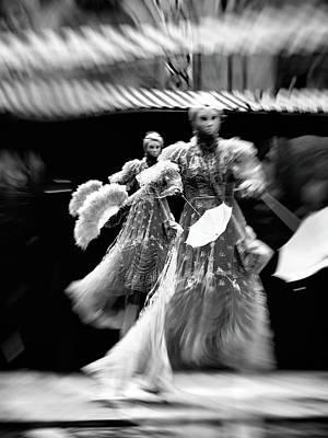 Photograph - Les Danseurs Flottants by Jorg Becker