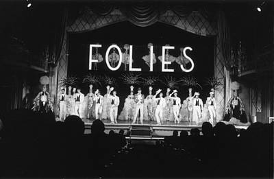Photograph - Les Folies by Reg Lancaster