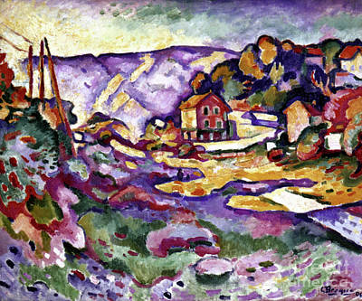 Photograph - L'estaque by Georges Braque