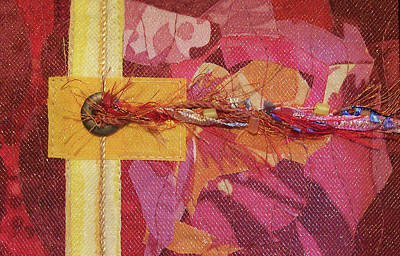 Tapestry - Textile - Let A Dozen Flowers Bloom by Pam Geisel