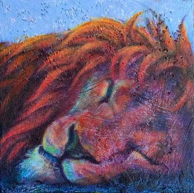 Painting - Let Sleeping Lions Lie by Lisa Bohnwagner