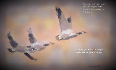 Mixed Media - Let Your Spirit Soar by Angela Davies
