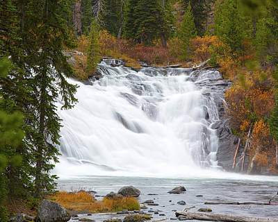 Photograph - Lewis Falls by Gerry Sibell