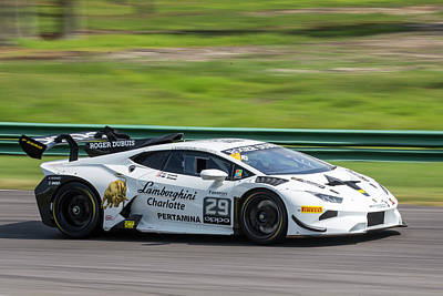Photograph - Lewis Snow Super Trofeo by Alan Raasch