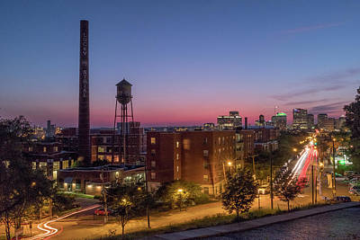 Photograph - Libby Hill After Sunset by Doug Ash