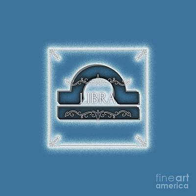 Royalty-Free and Rights-Managed Images - Libra by Esoterica Art Agency