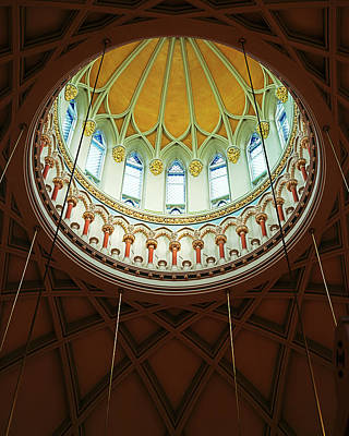 Photograph - Library Of Parliament, Interior Dome by Len Staples
