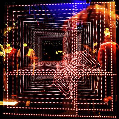 Photograph - Lichttunnel by Jorg Becker