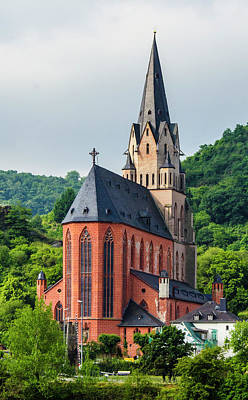 Photograph - Liebfrauenkirche Oberwesel by Paul Croll