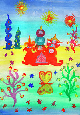 Painting - Life In The Fairy World by Irina Dobrotsvet