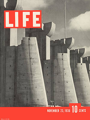 Photograph - Life Magazine Cover November 23, 1936 by Margaret Bourke-white