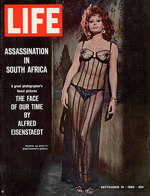 Photograph - Life Magazine Cover September 16, 1966 by Alfred Eisenstaedt