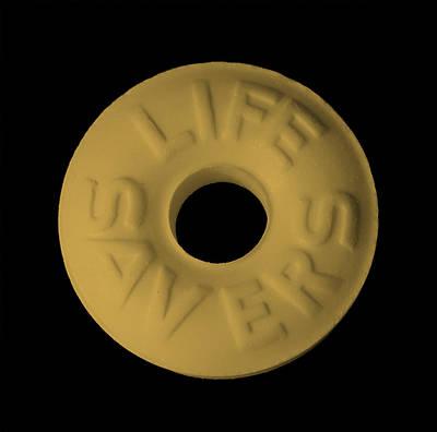 Photograph - Life Savers Butterscotch by Rob Hans