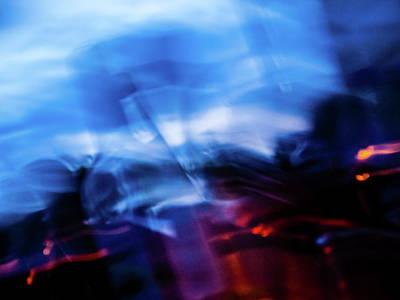 Photograph - Light Art 3 by Jorg Becker