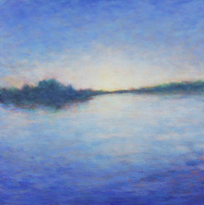 Painting - Light At Elkhorn Slough by Victoria Veedell