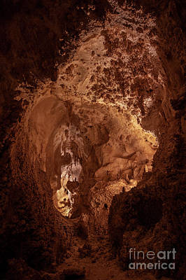 Photograph - Light At The End Of The Cavern by Mike Dawson