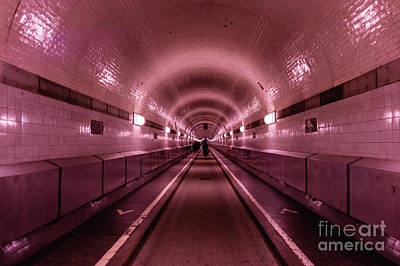 Photograph - Light At The End Of The  Old Tunnel by Marina Usmanskaya