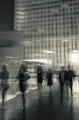 Photograph - Light Crowd by Alex Lapidus