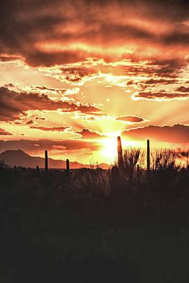 Rincon Mountains Wall Art - Photograph - Light Of Arizona by Chance Kafka