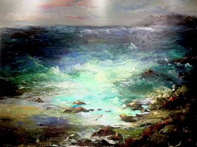 Painting - Light Of The Silvery Moon by Heather Roddy