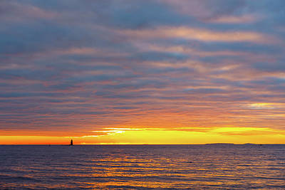 Photograph - Light On The Horizon by Jeff Sinon