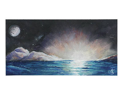 Painting - Light On the Horizon by Jeremiah Skurtu