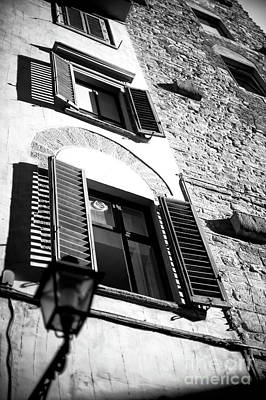 Photograph - Light On The Windows In Florence by John Rizzuto