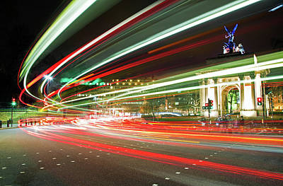 Hyde Park Wall Art - Photograph - Light-streams Pass Round Hyde Park by Ray Wise