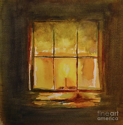 Painting - Light Through A Window by Allison Ashton