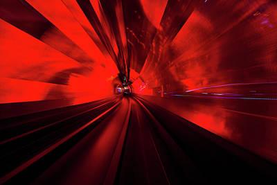 Photograph - Light Tunnel by Nikada